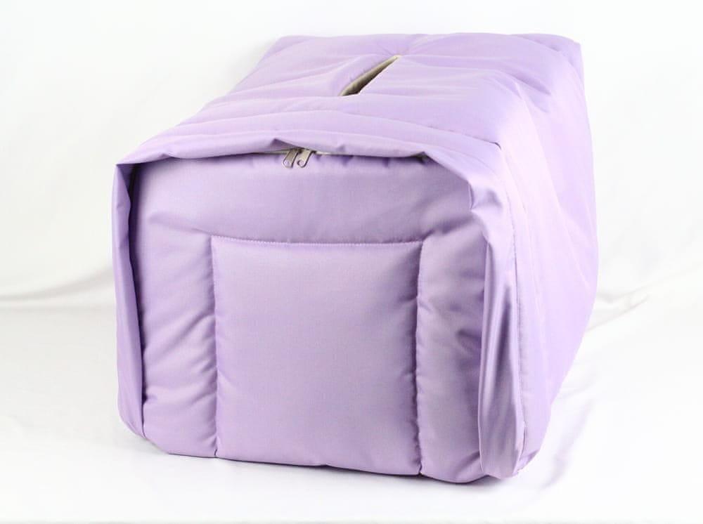 Zateplení přepravky liliový