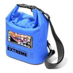 CellularLine Extreme vodotesna torbica, 5 l, modra