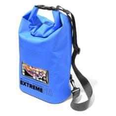 CellularLine Extreme vodotesna torbica, 15 l, modra