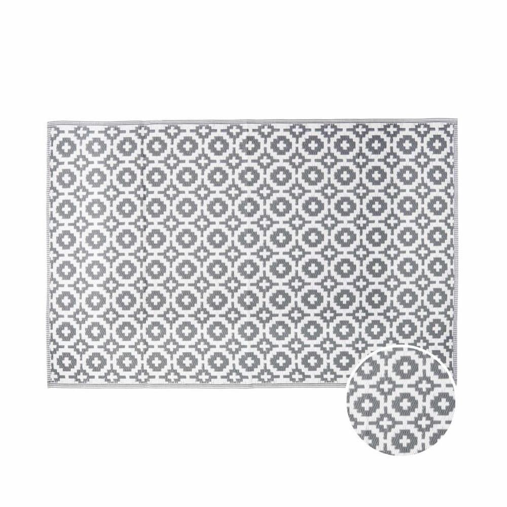 Butlers Venkovní koberec mozaika 180 x 120 cm - šedohnědá