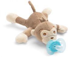 Philips Avent Hračka plyšová s cumlíkom - opica