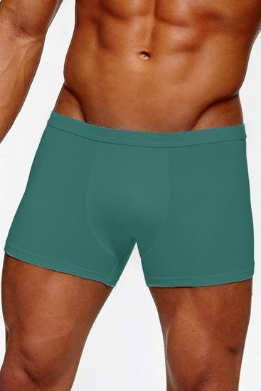 Cornette Pánské boxerky Authentic 223 mini turquoise - CORNETTE