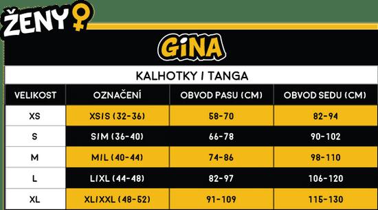 Gina Dámská tanga růžová (14143)
