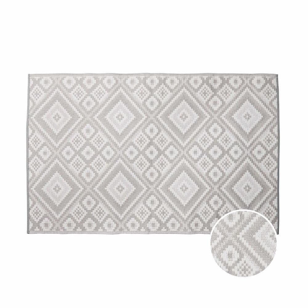 Butlers Koberec venkovní etno 180 x 120 cm - šedá