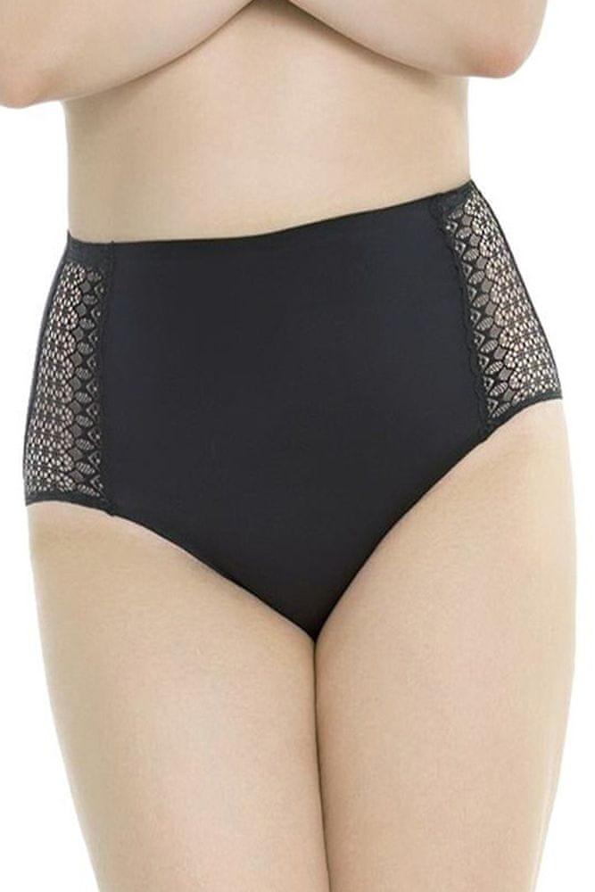 Julimex Dámské kalhotky Opal black černá 3XL