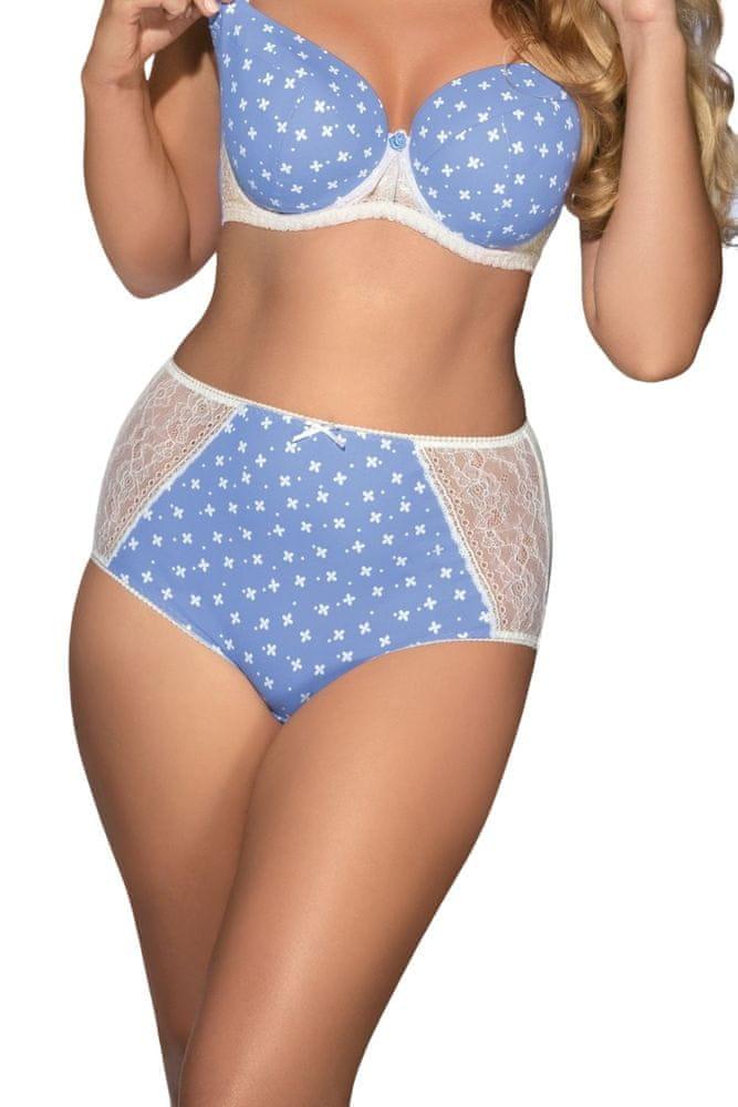 Ava Dámské kalhotky 1418 světle modrá XL + dárek zdarma