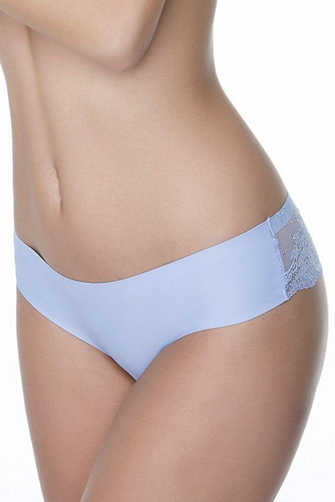 Julimex Dámské kalhotky Tanga light blue modrá XL