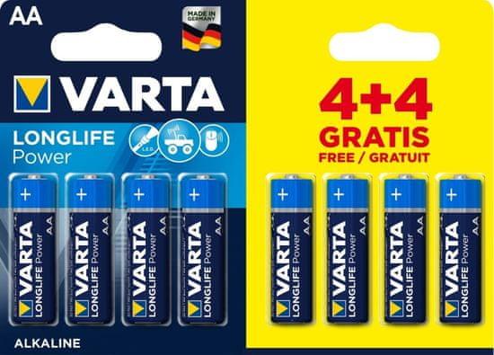 Varta baterije Longlife Power 4+4 AA 4906121448