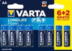 VARTA Batéria Longlife Power 6+2 AA 4906121428