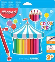 Maped barvice Color'Peps Maxi 3Robe 18/1