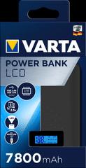 Varta polnilna postaja s prikazovalnikom LCD Power Bank 7800 mAh 57970101111