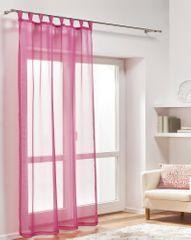 My Best Home Dekorační záclona DIANA amarant 140x245 cm
