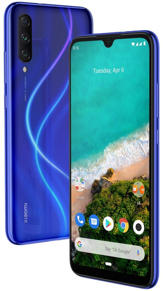 Xiaomi Mi A3, 4GB/64GB, Not just Blue