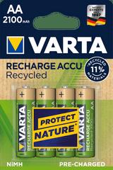 VARTA Nabíjacie batérie Recycled 4 AA 2100 mAh R2U 56816101404