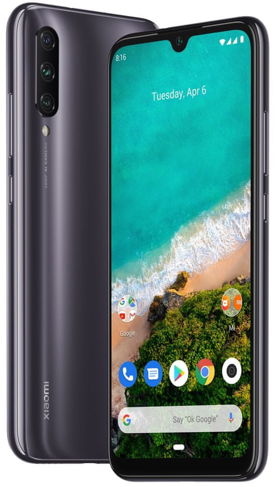 Xiaomi Mi A3, 4GB/64GB, Kind of Grey