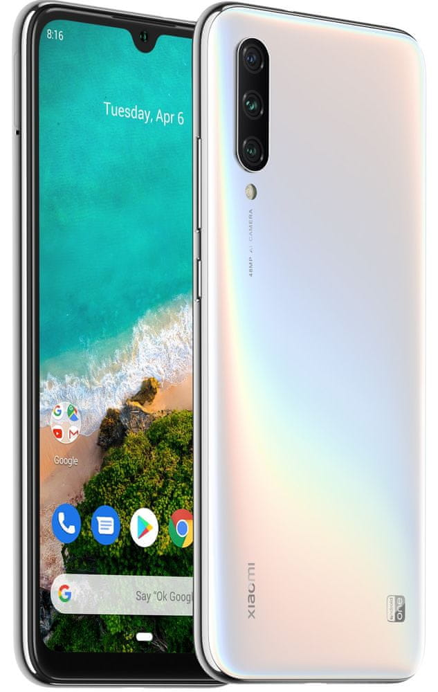 Xiaomi Mi A3, 4GB/128GB, More than White