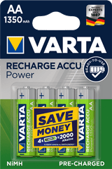Varta akumulatory Power 4 AA 1350 mAh R2U 56746101404