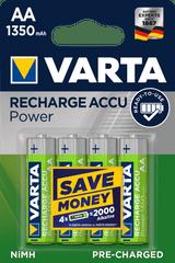 VARTA Nabíjacie batérie Power 4 AA 1350 mAh R2U 56746101404
