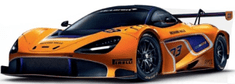 CARRERA samochód EVO - 27609 McLaren 720S GT3