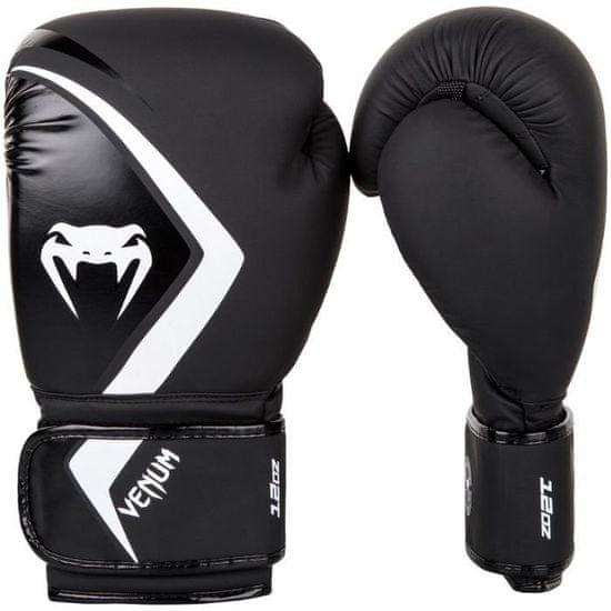 "VENUM Boxerské rukavice ""Contender 2.0"", černá/bílá 12oz"