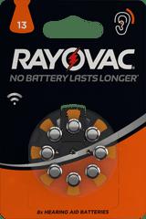 Varta Rayovac HAB 13 (8 pack) baterije za slušni aparat 4606745418, 8 kosov