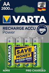 Varta Nabíjecí baterie Power 4 AA 2600 mAh R2U 5716101404