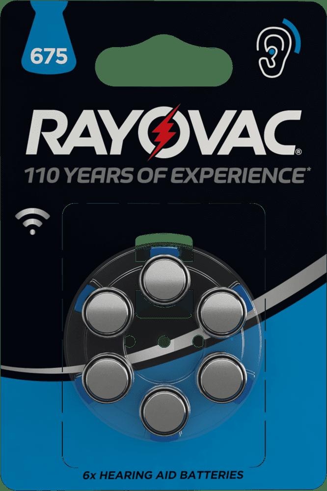 Varta Rayovac 675 (PR44) 6pack 4600745416