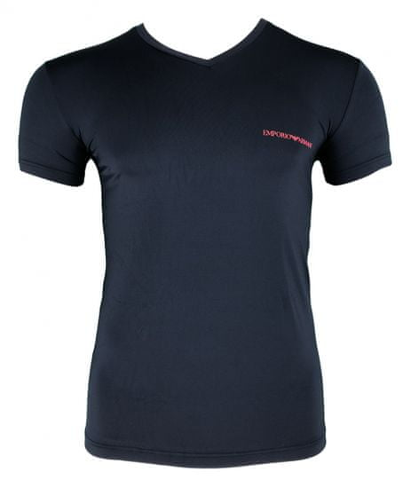 Emporio Armani Pánské tričko 110810 9P719 00135 tmavě modrá - Emporio Armani