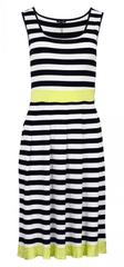 Favab Dámské letní šaty Lana Mod Essed - Favab námořní pruhy XS