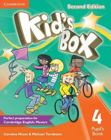 Nixon Caroline: Kid´s Box 4 Second Edition Pupil´s Book
