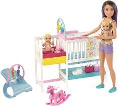 Mattel Barbie Herní pokój dziecięcy zestaw GFL38