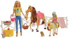 Mattel Barbie zestaw z końmi FXH15