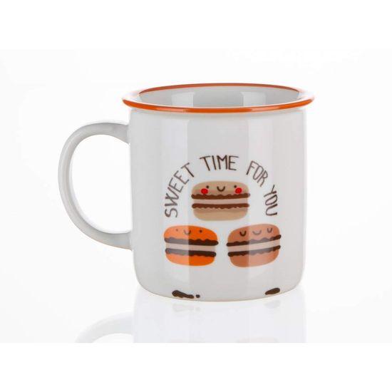 Banquet keramična skodelica COFFEE ICONS, 310 ml, Best Coffe, 4 kosi