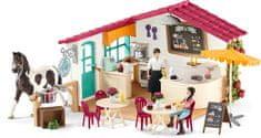 Schleich kawiarnia dla dżokejów 42519