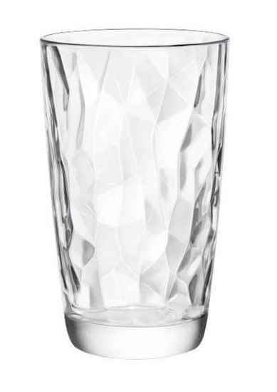 Banquet szklanka DIAMOND 470 ml przezroczysta, 6 szt.