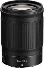 Nikon NIKKOR Z 85 mm f/1.8 S objektiv