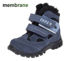 Fare chlapecká kotníčková obuv 846203 24 modrá