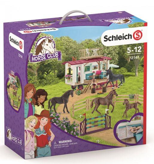 Schleich Prikolica in dodatki za trening s konji 72141