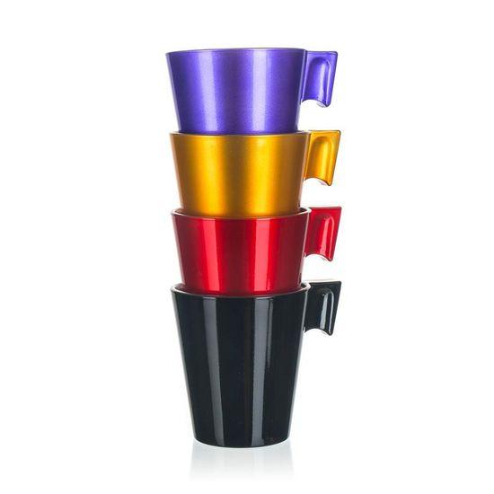 Luminarc Šálek skleněný FLASHY LONGO 220 ml, 4 ks