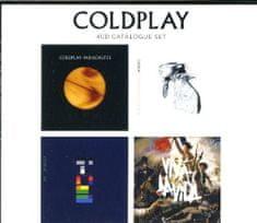 Coldplay: 4 CD Catalogue Set/4 Řadová alba (4x CD) - CD