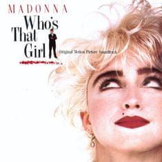 Soundtrack / Madonna: Who's That Girl / Kdo Je Ta Holka (OST, Edice 2018) - CD