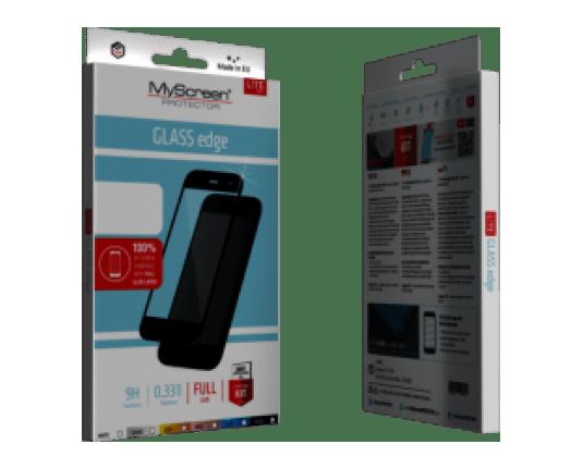 MyScreen Protector zaščitno steklo za iPhone/iPhone Xs, črno
