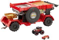 Hot Wheels vozilo Monster trucks, dirka, 2v1
