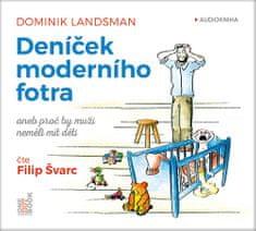 Landsman Dominik: Deníček moderního fotra - MP3-CD