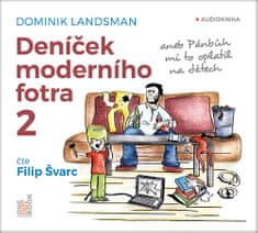 Landsman Dominik: Deníček moderního fotra 2 - MP3-CD
