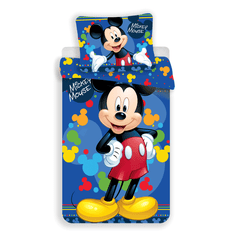 "Jerry Fabrics Mickey ""blue 03"" posteljnina"