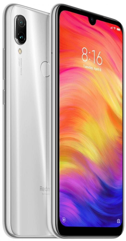 Xiaomi Redmi Note 7, 4GB/128GB, Global Version, Moonlight White