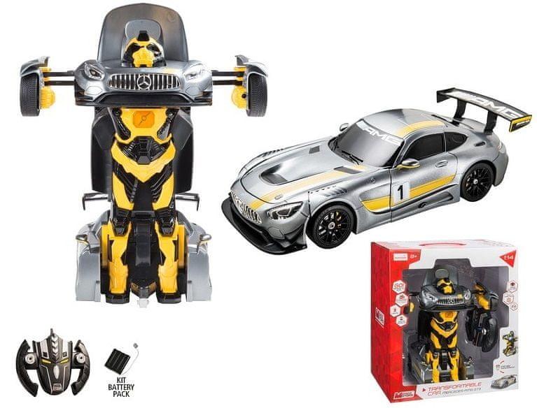 Mondo Motors Mercedes AMG GT3 Transformable - žlutá