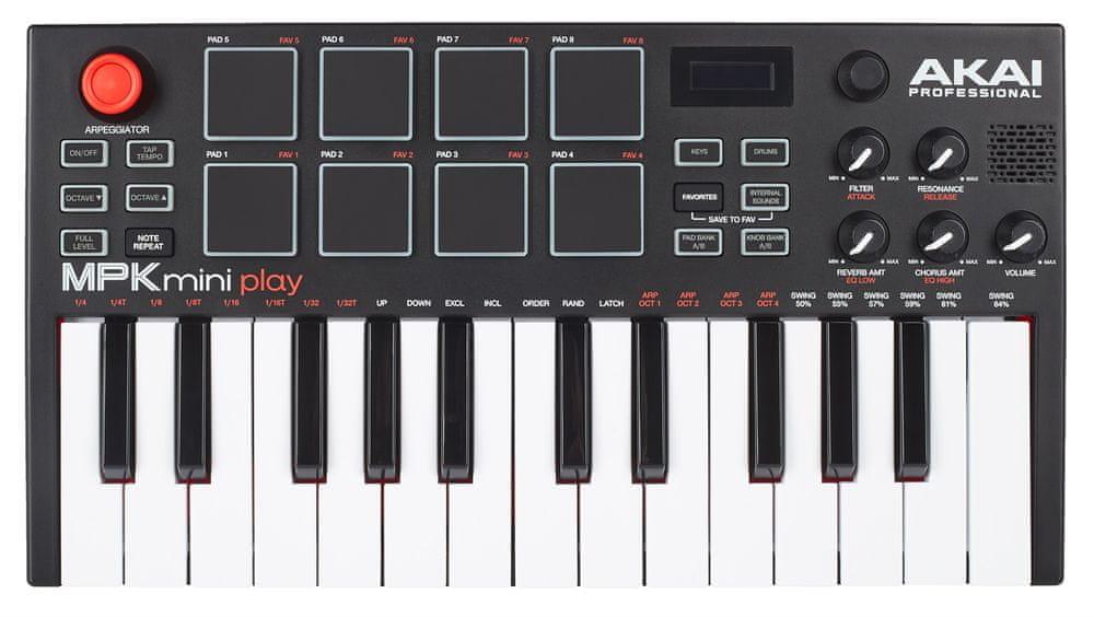Akai MPK Mini PLAY USB/MIDI keyboard