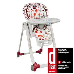 Chicco Židlička jídelní Polly Progres5 - Cherry